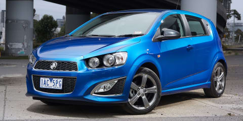 Holden Barina RS launches from $20,990