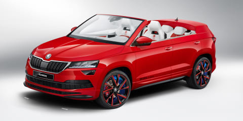 Skoda Sunroq unveiled