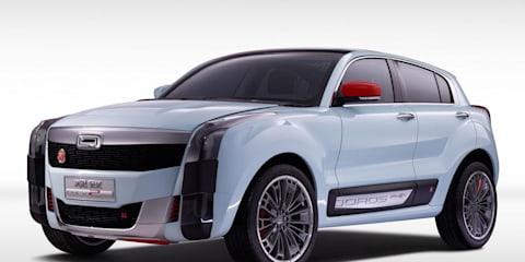 Qoros 2 Concept revealed