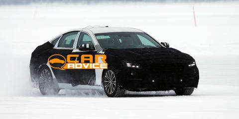 2014 Hyundai Genesis spied, all-wheel-drive confirmed