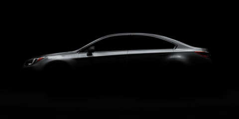 2015 Subaru Liberty teased