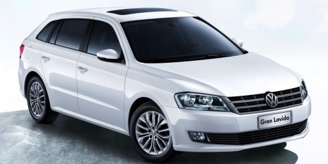 Volkswagen Gran Lavida: China-only wagon revealed