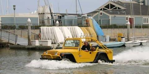 WaterCar Gator Volkswagen Beetle-based Jeep amphibious car