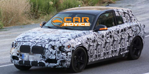 2012 BMW 1 Series five-door Spy Photos