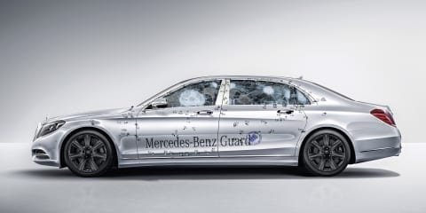Mercedes-Maybach S600 Guard:: Benz lobs bomb-proof limo