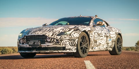 Aston Martin DB11: Alice Springs to Mount Isa