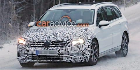 2019 Volkswagen Passat Wagon spied