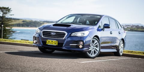 Subaru content with Levorg sales, but range growth is key