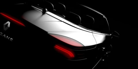 Renault Mégane Coupe-Cabriolet previewed ahead of Geneva