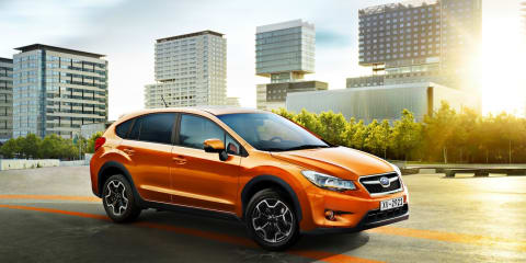 2012 Subaru XV production model unveiled at Frankfurt