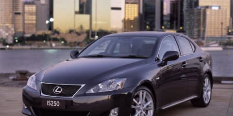 2007-2009 Lexus IS250 recalled in Australia, Toyota Avensis not affected