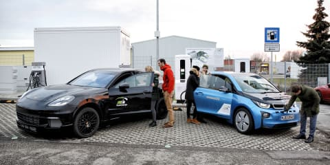 BMW, Porsche demonstrate 450kW EV charging