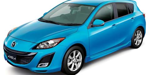 Mazda Axela (Mazda3) with i-stop testing in Australia