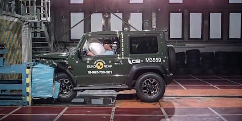 2019 Suzuki Jimny hit with three-star safety score
