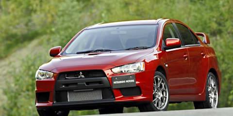 Mitsubishi Evo hybrid