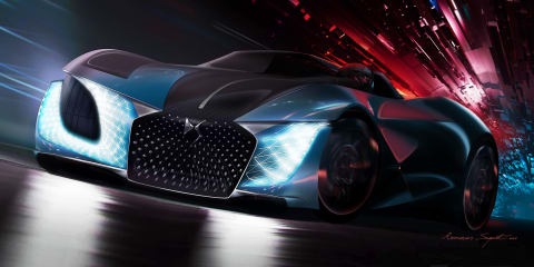 DS X E-Tense concept revealed