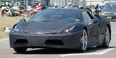2010 Ferrari F450 spied