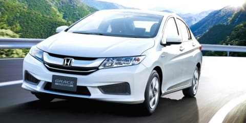 Honda City Hybrid unveiled in Japan