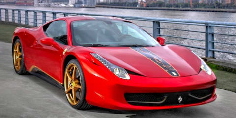 Ferrari 458 Italia special edition released to mark Chinese milestone