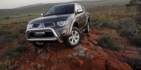 2010 Mitsubishi Triton utility specifications