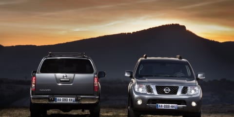 2010 Nissan Navara, Pathfinder revealed, no V6 diesel for Australia