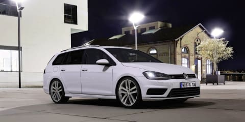 Volkswagen Golf Wagon R-Line package revealed
