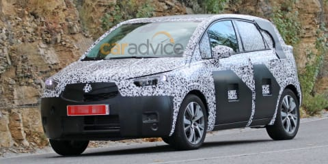 2016 Opel Meriva spy photos