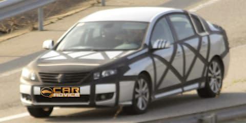 Renault Safrane, Samsung SM5 spy photos