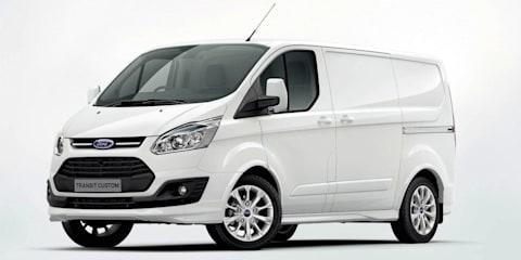 Ford Transit Custom previews new commercial van range