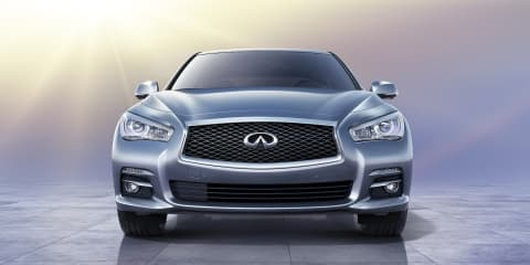 2013 Infiniti Q50: hybrid option for premium mid-sized sedan
