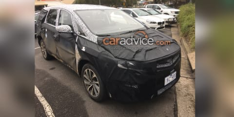 Geely MPV spied in Melbourne after concept debut