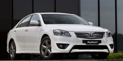 2011 Toyota Aurion White Limited Edition