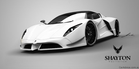 Shayton Equilibrium - a new supercar on the block