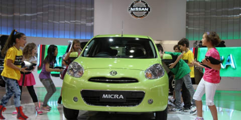 Nissan Micra at 2010 AIMS