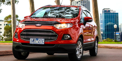 Ford EcoSport recalled for suspension fix