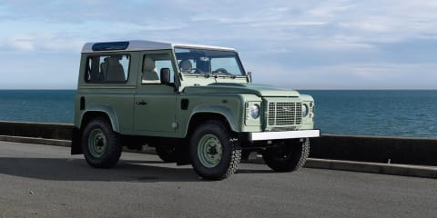 Land Rover Defender Heritage and Adventure limited edition models - pricing announced