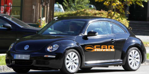 2011 Volkswagen Beetle spy shots