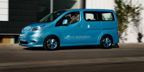 Nissan e-NV200 Concept Unveiled
