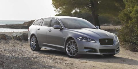 Jaguar XF Sportbrake: first official images revealed