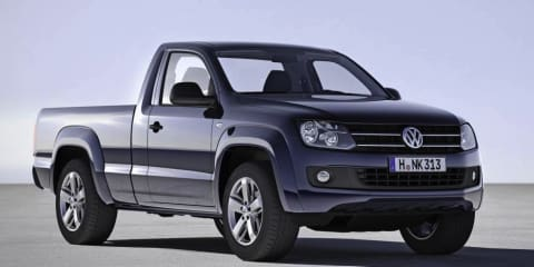 Volkswagen Amarok single cab, automatic coming to Australia mid-2012