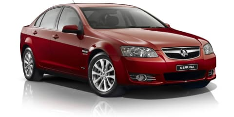 2012 Holden Commodore visual updates