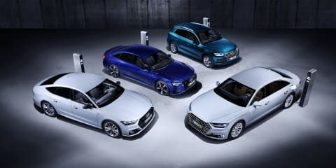 Audi A6, A7, A8, Q5 plug-in hybrids revealed - UPDATE