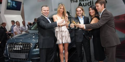 Audi celebrates 100 years & Q5 launch at MIMS