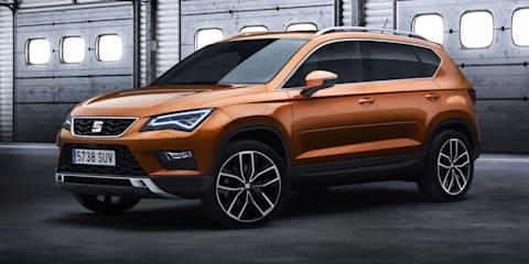Seat Ateca SUV revealed for Geneva motor show