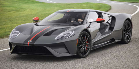 Ford GT drags Dodge Demon - video