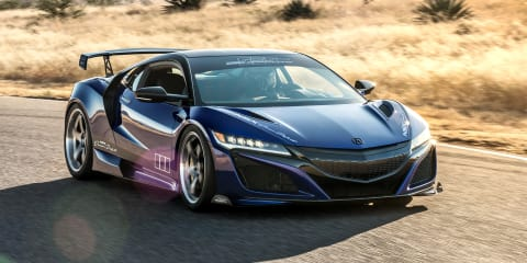 Acura NSX 'Dream Project' revealed for SEMA
