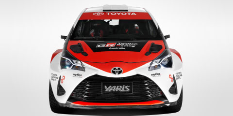 Toyota Gazoo Racing Australia rally team announced