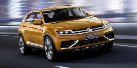Volkswagen CrossBlue Coupe concept: revisions for Evoque rival