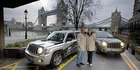 Couple sets fuel economy standard in Jeep SUVs