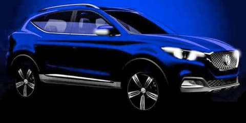 MG 'ZS' compact SUV teased for Guangzhou motor show - UPDATE